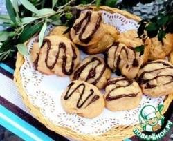 Бисквитное печенье с орехом макадамия