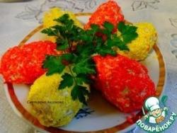 Творожная картошка с черносливом