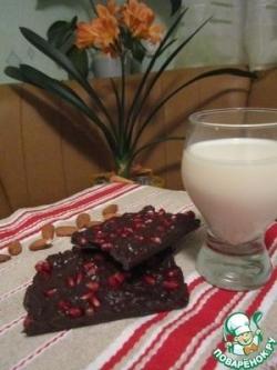 Солёный шоколад с кислинкой