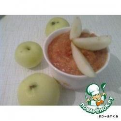 Яблочно-грушевый сорбет