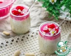 Датский рисовый десерт с миндалем