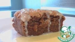 Ореховый пудинг под ванильным соусом