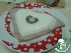 Творожный десерт на день Святого Валентина