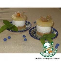 Чизкейки с ананасами