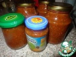 Томатный соус с кинзой или мой домашний кетчуп (на зиму)