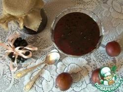 Варенье из черноплодной рябины (аронии) со сливами