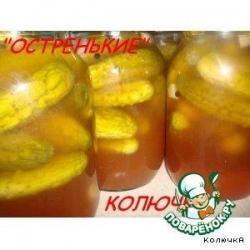 Огурчики в томатной заливке