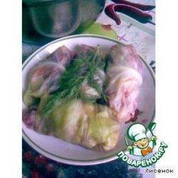 Закусочка из капусты