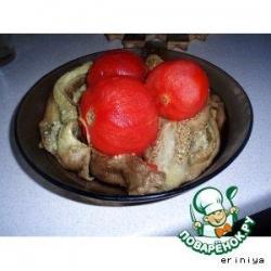 Баклажаны печеные, консервированные