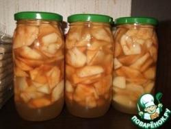 Медовые яблочки