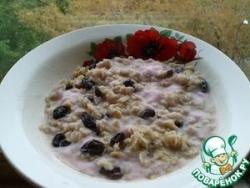 Овсяная каша с йогуртом