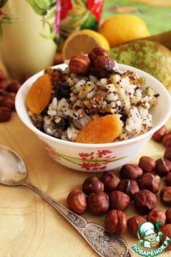 Орехово-маковый рис