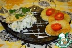 Камбала с экзотическим рисом
