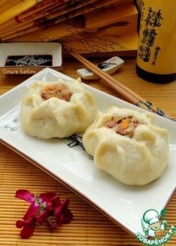 Китайские паровые пампушки Баоцзы