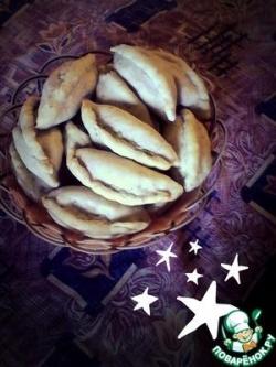 Пирожки с картошкой постные