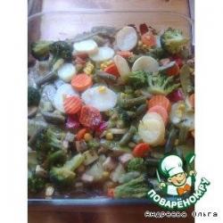 Запеченые овощи по- английски