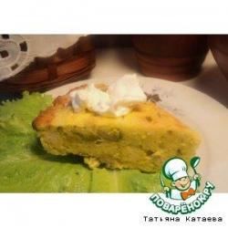 Картофельная запеканка с брюссельской капустой