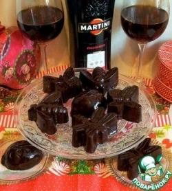 Сливочный щербет в шоколаде
