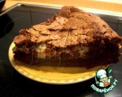 Нежнейший мокрый пирог с шоколадом и маскарпоне