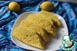 Лимонный пирог на пару