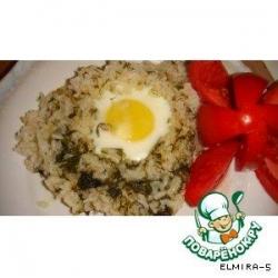 Яичница с рисом