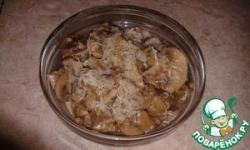 Тушёные грибы в мультиварке