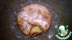 Постные булочки с яблоками и корицей