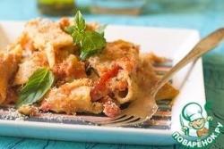Паста аль форно с томатами и сухарями