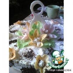 Украшения для торта из мастики!
