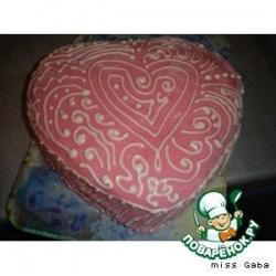 Молочная мастика и айсинг на торте
