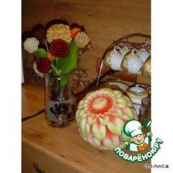 Овощные букеты и композиции-1