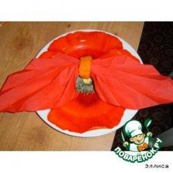 Кольца для салфеток из моркови-2