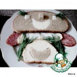 Хлеб с узорами