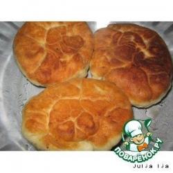 Жареные пирожки со сладкой начинкой