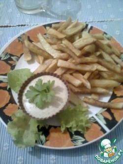 Картофель-фри с пикантным соусом'Весна'