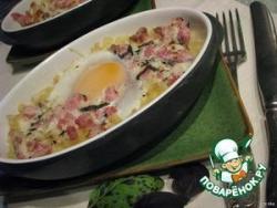 """Яйца """"Карбонара"""""""
