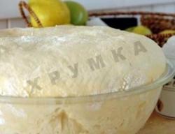 Кулинарный рецепт Быстрое тесто для пирогов и плюшек с фото