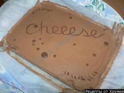 Кулинарный рецепт Чизкейк с фото