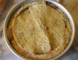 Яблочная шарлотка из хлеба в чудо-печке