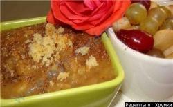 Кулинарный рецепт Халва из манной крупы с фото