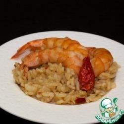Эби тяхан или рис с креветками по-японски