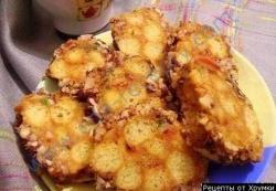 Кулинарный рецепт Колбаса из кукурузных палочек с фото