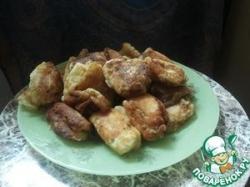Пончики-сырники со сгущёнкой