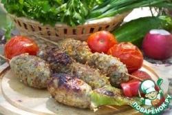 Люля-кебаб в панировке для пикника