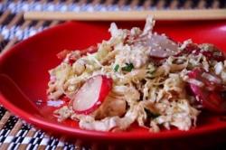 Салат пекинская капуста перец болгарский