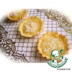 Кокосово-лимонные тарталетки