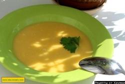 Сырный крем суп с плавленым сыром