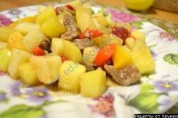 Венгерский суп гуляш из говядины