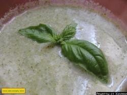 Суп-крем из капусты брокколи со сливками рецепт