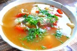 Вкусный суп шурпа на костре в казане приготовление рецепт с фото